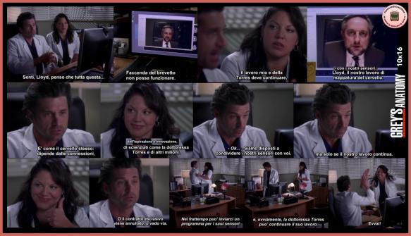 Grey's Anatomy 10x16 BM
