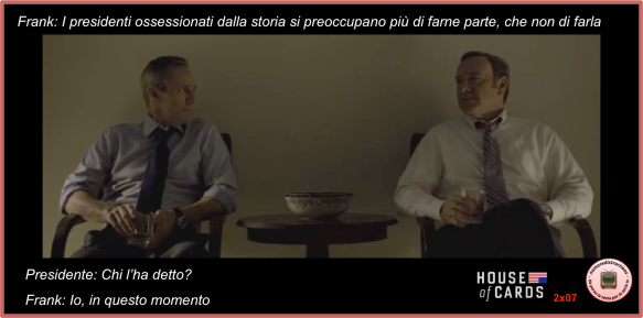 House of cards 2x07 Frank